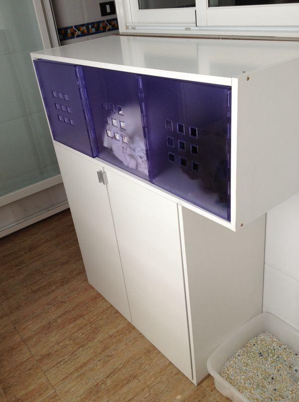 Diy organizar un cuarto de lavado - Armario colada ikea ...