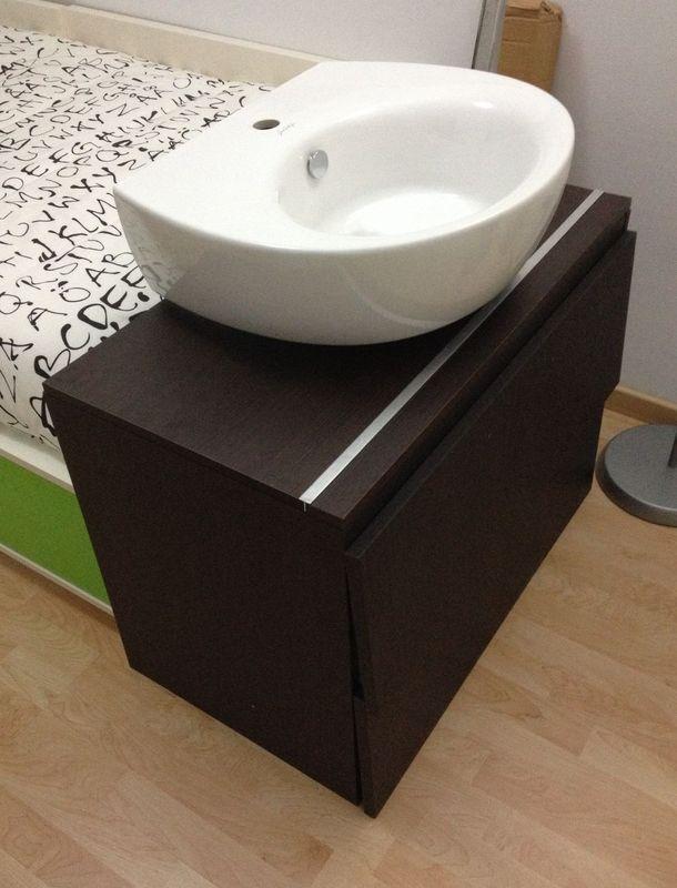Paso a paso c mo hacer una encimera para un mueble lavabo for Hacer mueble lavabo