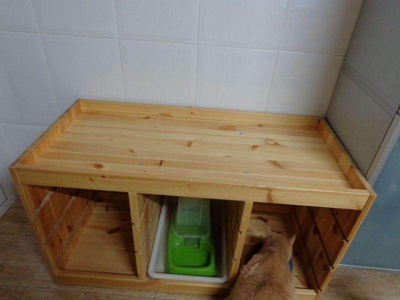 C mo transformar un mueble en una cama para mascotas - Transformar muebles ikea ...