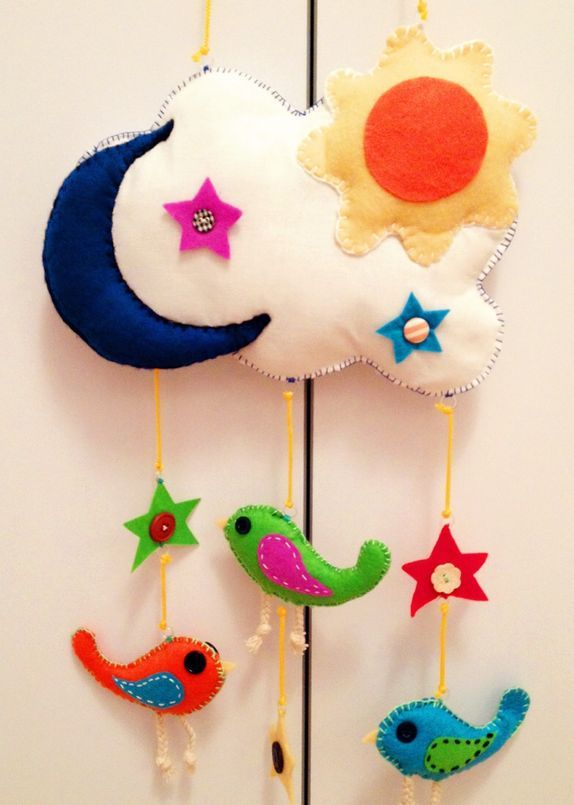Manualidades para decorar la habitaci n del beb - Manualidades para decorar habitacion bebe ...