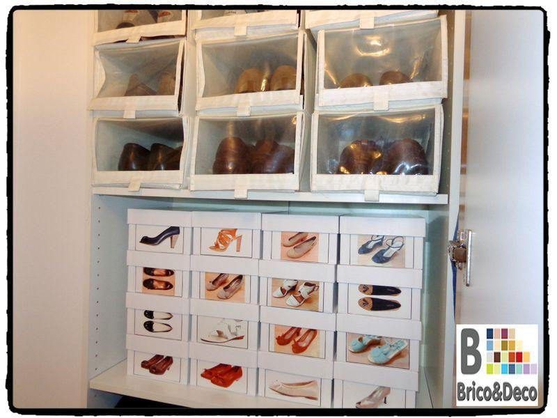 Soluciones de almacenaje para el calzado - Cajas transparentes para zapatos ...