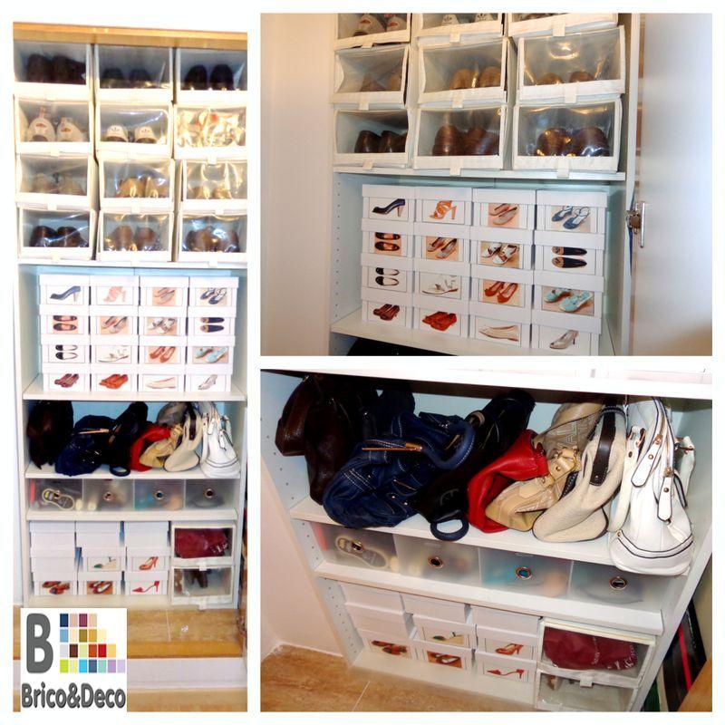 Soluciones de almacenaje para el calzado for Estanteria zapatero
