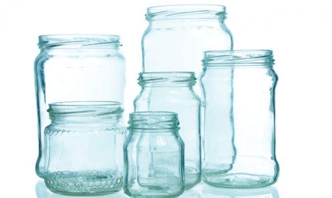 Como quitar las etiquetas de los tarros de cristal r pidamente - Como decorar botes de cristal para chuches ...