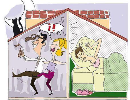 Como aislar ac sticamente una pared medianera - Como aislar una habitacion del ruido ...
