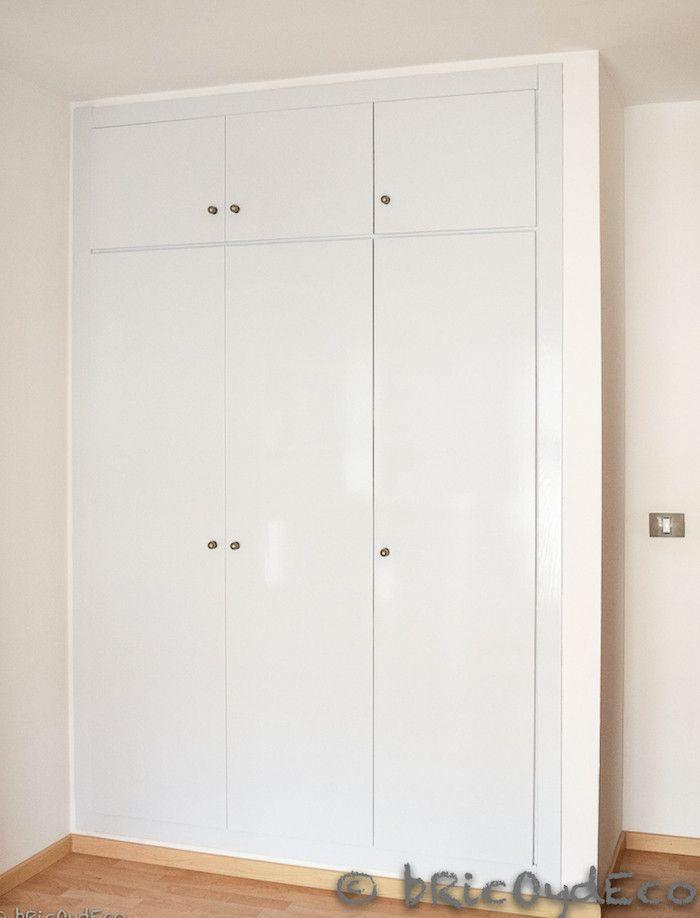forrar las puertas de un armario con vinilo autoadhesivo On forrar armario papel adhesivo