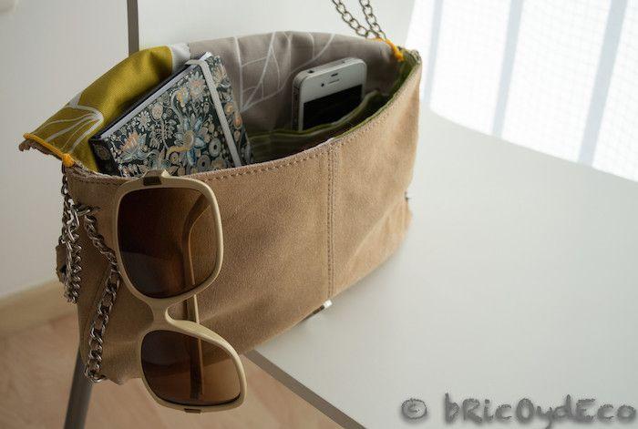 Paso a paso c mo forrar con tela el interior de un bolso - Como forrar muebles con tela paso a paso ...