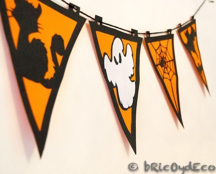 C mo hacer una guirnalda para halloween paso a paso - Ideas para hacer en halloween ...