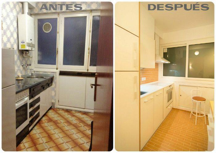 Reformar suelo de cocina sin obra for Renovar cocinas sin obras