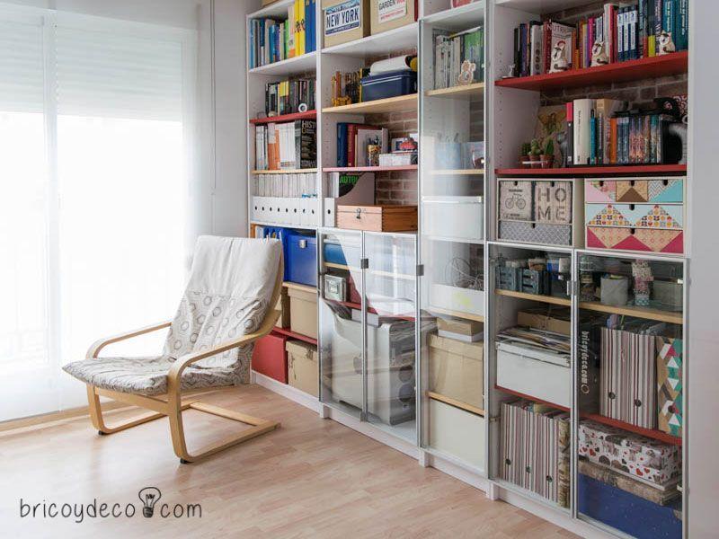 Ikeahack antes y despu s de tunear la librer a billy de - Pintura para muebles de melamina ...