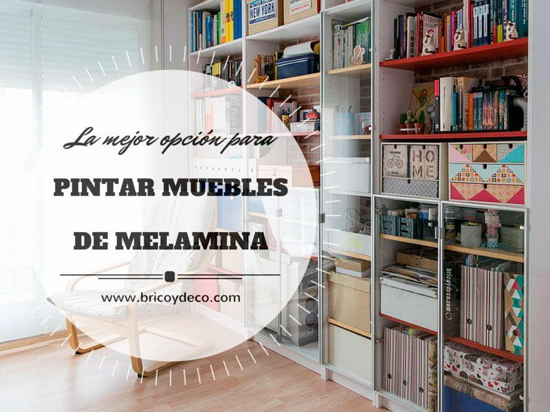 Pintar muebles de melamina con pintura para azulejos for Pintura para muebles