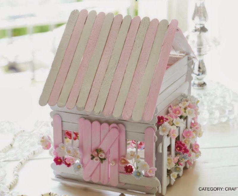 Las 12 formas m s creativas de reciclar palitos de helado - Decoraciones originales para casas ...