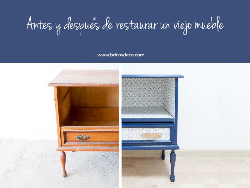 Como restaurar un mueble viejo dise os arquitect nicos for Restaurar muebles viejos antes y despues