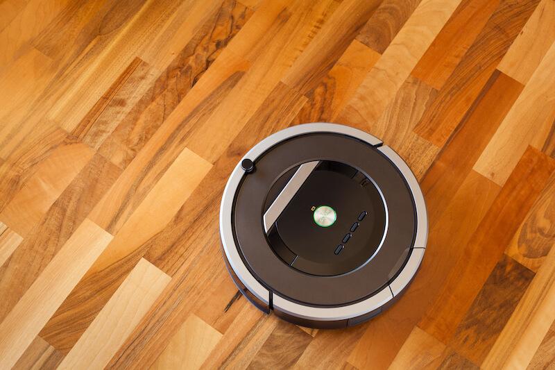 robot aspirador moderno